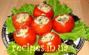 Помидоры с яйцом и сыром рецепт с фото